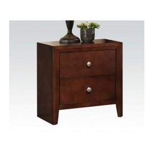 Ilana Brown Cherry Nightstand