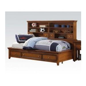 Lacey Cherry Oak Twin Bed