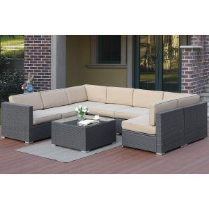POUNDEX 8-PCS SECTIONAL SECTIONAL 462