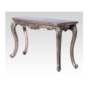 CHANTELLE ANTIQUE PLATINUM SOFA TABLE