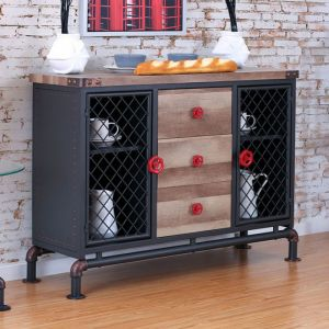 Brixton I Antique Black Server