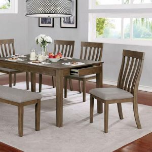 Astilbe Warm Gray Taupe Table