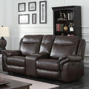 Chenai Brown Loveseat