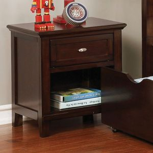 Brogan Brown Cherry Nighstand