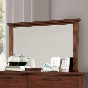 Knighton Brown Cherry Mirror