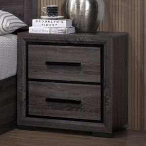 Conwy Gray Nighstand