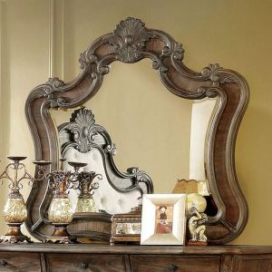 Cursa Rustic Natural Tone Mirror