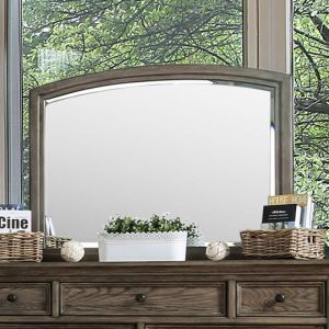 Armus Wire Brushed Gray Mirror