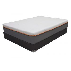 Amenity Orange Firm 12  Mattress Set