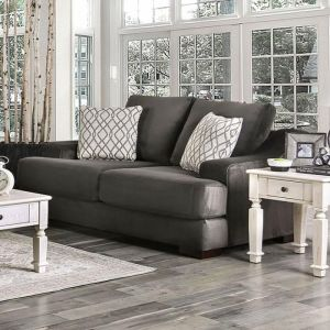 Adrian Charcoal Loveseat