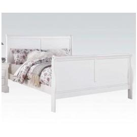 L.P.III WHITE QUEEN BED