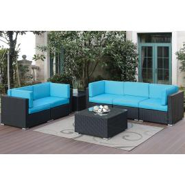 POUNDEX 7-PCS SOFA SOFA 459