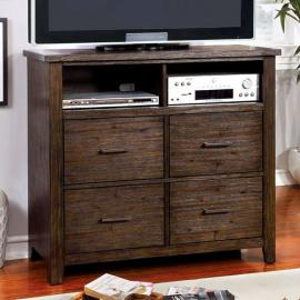 Ribeira Dark Walnut Media Chest