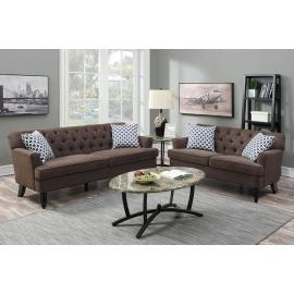 POUNDEX 2-PCS SOFA F6942